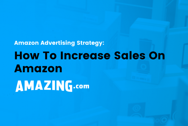 featured image: how to increase sales on amazon
