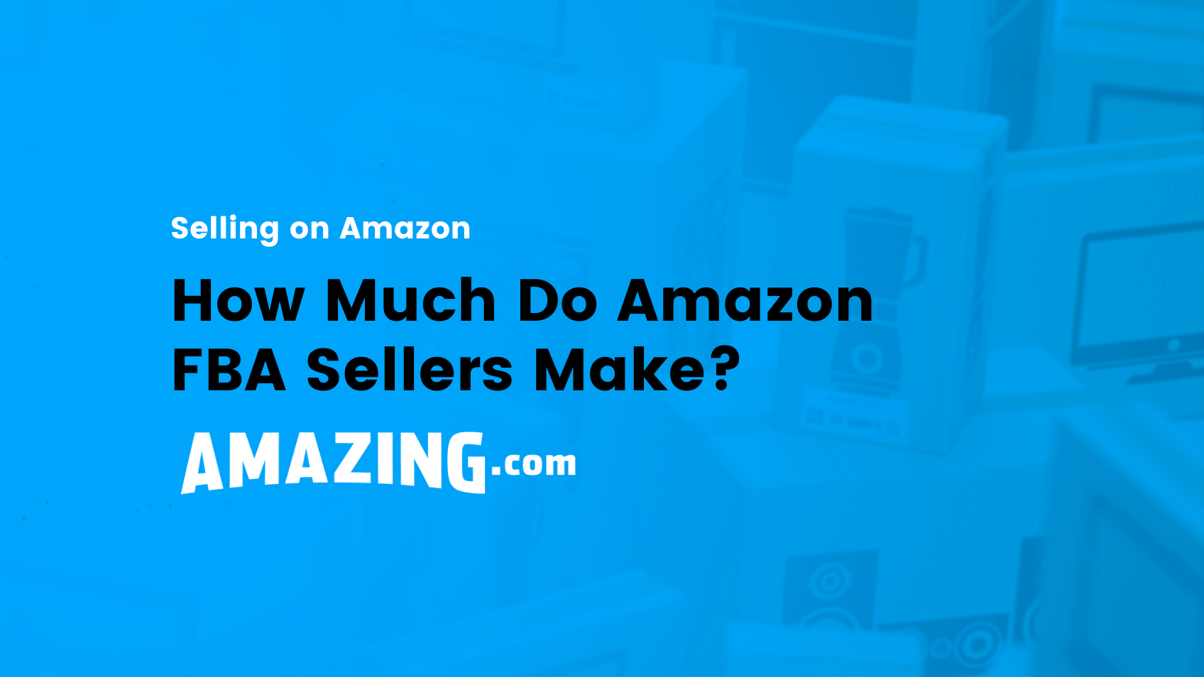 featured image:How Much Do Amazon FBA Sellers Make?